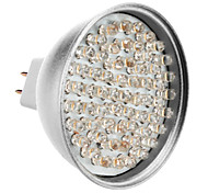 MR16 3.5W 60-LED 320-360LM 3000-3500K lumière blanche chaude Ampoule LED Spot (12V)