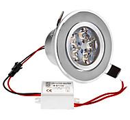 Dimmable 5W 1-400LM 3000-3500K Warm White Light LED Ceiling Bulb (220V)