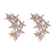 Shiny Full-Star Earrings