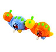 Tige de remontoir jusqu'à Snail Crawlig avec Movable queue de tête (couleur aléatoire)
