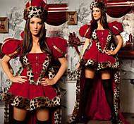 Traje antigua Babilonia Reina Roja vestido de las mujeres