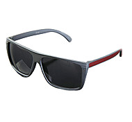 Man's UV400 Plastic Square Full Frame Sunglasses(Assorted Colors)