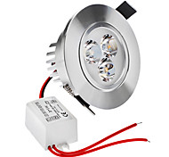 Dimmable 3W 1-210LM 2800-3300K Warm White Light LED Ceiling Bulb (220V)