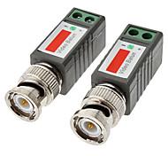 1 канал пассивный CCTV видео трансивер ч / б: 600 Цвет: 400 м 10 см