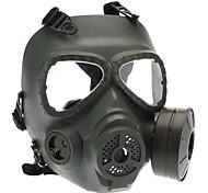 Schädel Stil Gasmaske für Outdoor War Games - Armee-Grün