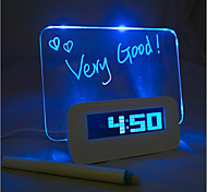 babillard lumière bleue réveil numérique avec hub 4 ports USB (USB)