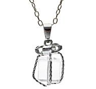 bowknot ist transparent weiß k kleine Geschenke aus der Geschenk-Box Halskette