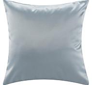 """18 """"Silver poliéster almohada cubierta decorativa moderna plaza"""