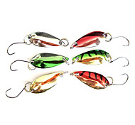Fishing Hook Specially for Weever with Colorful Lure(2.5g, Color Ramdon)