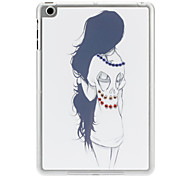 Diamond Look Girl Case with Matte Transparent Frame for iPad mini 3, iPad mini 2, iPad mini