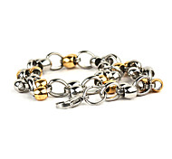Men'S Titanium Steel Lantern Bracelet