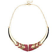 Golden Choker Necklaces / Vintage Necklaces Alloy Jewelry