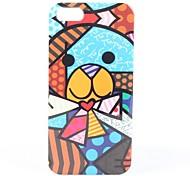 caso duro del patrón del oso colorido para el iphone 5/5s