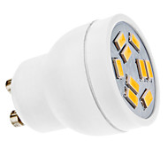 3W GU10 Spot LED MR11 9 SMD 5630 270 lm Blanc Chaud AC 100-240 V