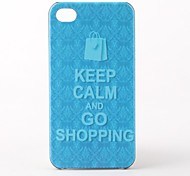 Shopping Bag Hard Case for iPhone 4 and 4S