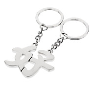 A Pair Good Word Lover Keychain