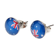 Milan Star Stainless Steel Earring