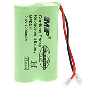 Replacement Battery 2.4V/1200mAh for Cordless Phone (Pioneer/Panasonic)