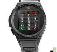 """tw910 1.3 """"2g телефон вахты (Bluetooth, стальной ленты, игрок mp3 mp4, Quad Band)"""