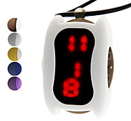 Unisex Silicone Digital LED Necklace Wrist Watch (Assorted Colors)