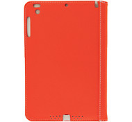 Ultrathin Litchi Pattern PU Full Body Case with Built in Holding Band and Stand for iPad mini (Optional Colors)