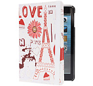 Flower Built Eiffel Case w/ Stand for iPad mini 3, iPad mini 2, iPad mini