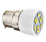 3W B22 Focos LED MR11 9 SMD 5630 270 lm Blanco Natural AC 100-240 V