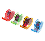 4 Pack Whistle Shaped Tape Dispenser with Tape