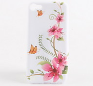 Butterfly and Flower Pattern Soft TPU Case for iPod Touch 5