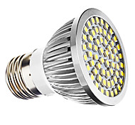 3W E26/E27 Focos LED MR16 60 SMD 3528 240 lm Blanco Natural AC 110-130 / AC 100-240 V