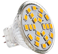 GU4 3 W 24 SMD 2835 230 LM Warm White MR11 Spot Lights DC 12/AC 12 V