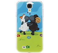 L'amore di pattern Pecora per Samsung Galaxy i9500 S4