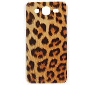 Brown Leopard Muster Hard Case für Samsung Galaxy I9152 5.8 Mega
