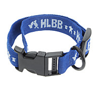 Dog Collar Blue Nylon