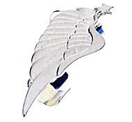Wings Pentagram pendiente de clip punky del estilo Golden Ear Bones