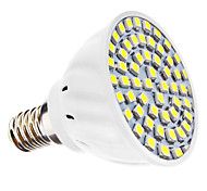 3W E14 Focos LED MR16 60 SMD 3528 240 lm Blanco Natural AC 110-130 / AC 100-240 V