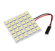 36 LED Decorative Universal Car Dome White Light 2Pcs