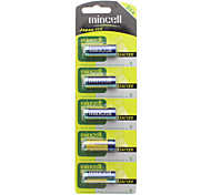 Mincell Disposable 55mAh 23A / L1028 12V Alkaline Batteries (5 PCS)