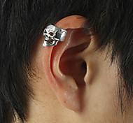 Women's Vintage Skull Punk Clip-on Earrings
