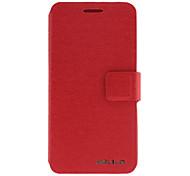 Popular Design de cuero artificial y de plástico para HTC One M7 (colores opcionales)