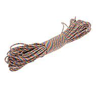 Military Army Survival Parachute Rope - Dazzle Color(30M/140KG Max.Tensile)