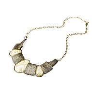 Personalidad cuadro de europeos y americanos de la moda étnica estilo antiguo collar de bronce salvaje costura N206