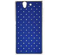 Diamond Look Hard Protective Case for Sony L36h(Xperia Z)(Optional Colors)