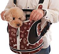 patrón de los copos de nieve mochila frontal portador bolso para mascotas perros (colores surtidos)