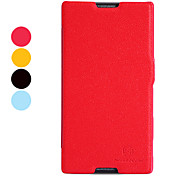 Elegant Full Body PU Leather Case with Card Slot for Sony S39h Xperia C (Optional Colors)