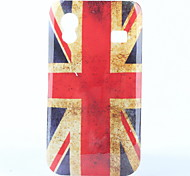 UK Flag Pattern Protective Polycarbonate Case for Samsung S5830