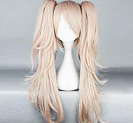 Cosplay Wigs Dangan Ronpa Junko Enoshima Pink Medium Anime/ Video Games Cosplay Wigs 65 CM Heat Resistant Fiber Female