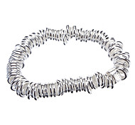 Z&X®  Delicate Chinese National Circle Style Miao Silver Bracelet (Silver)
