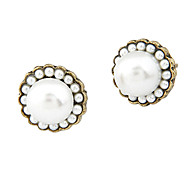 Korean version of the retro fashion pearl earrings E98