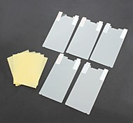 5 Packed HD Screen Protector with Microfiber Cloth for Sony Ericsson LT26i / Xperia S